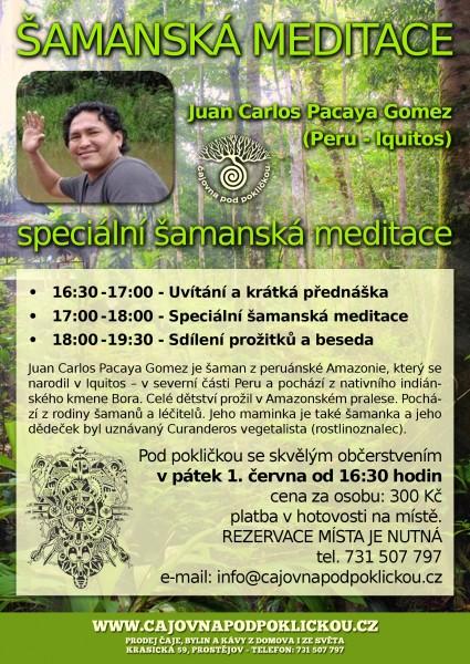 Speciální šamanská meditace
