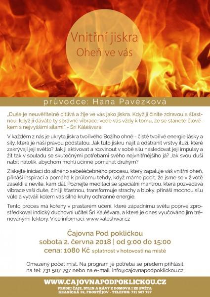 Vnitřní jiskra - Oheň ve vás...