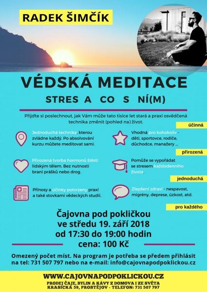 Védská meditace - stres a co s ní(m)