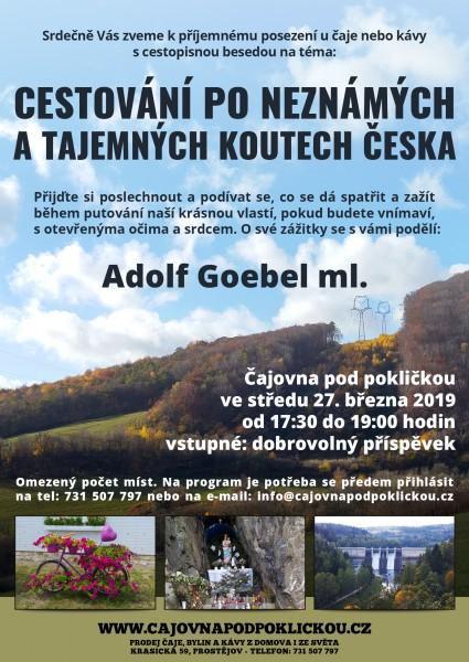 Cestování po neznámých a tajemných koutech česka