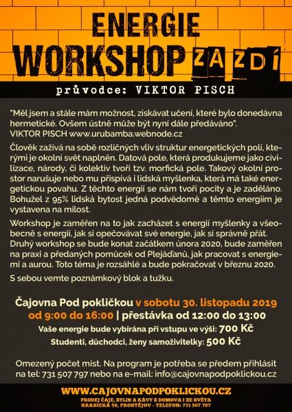 Workshop za zdí - Energie