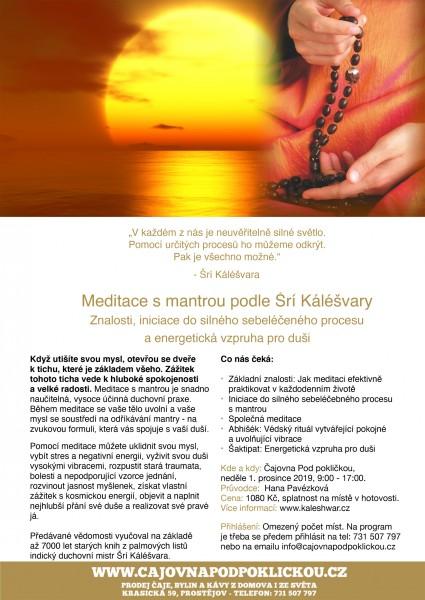Meditace s mantrou podle Šrí Káléšvary