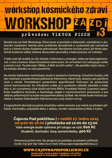 Workshop kosmického zdraví 3