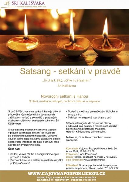 Satsang - setkání v pravdě